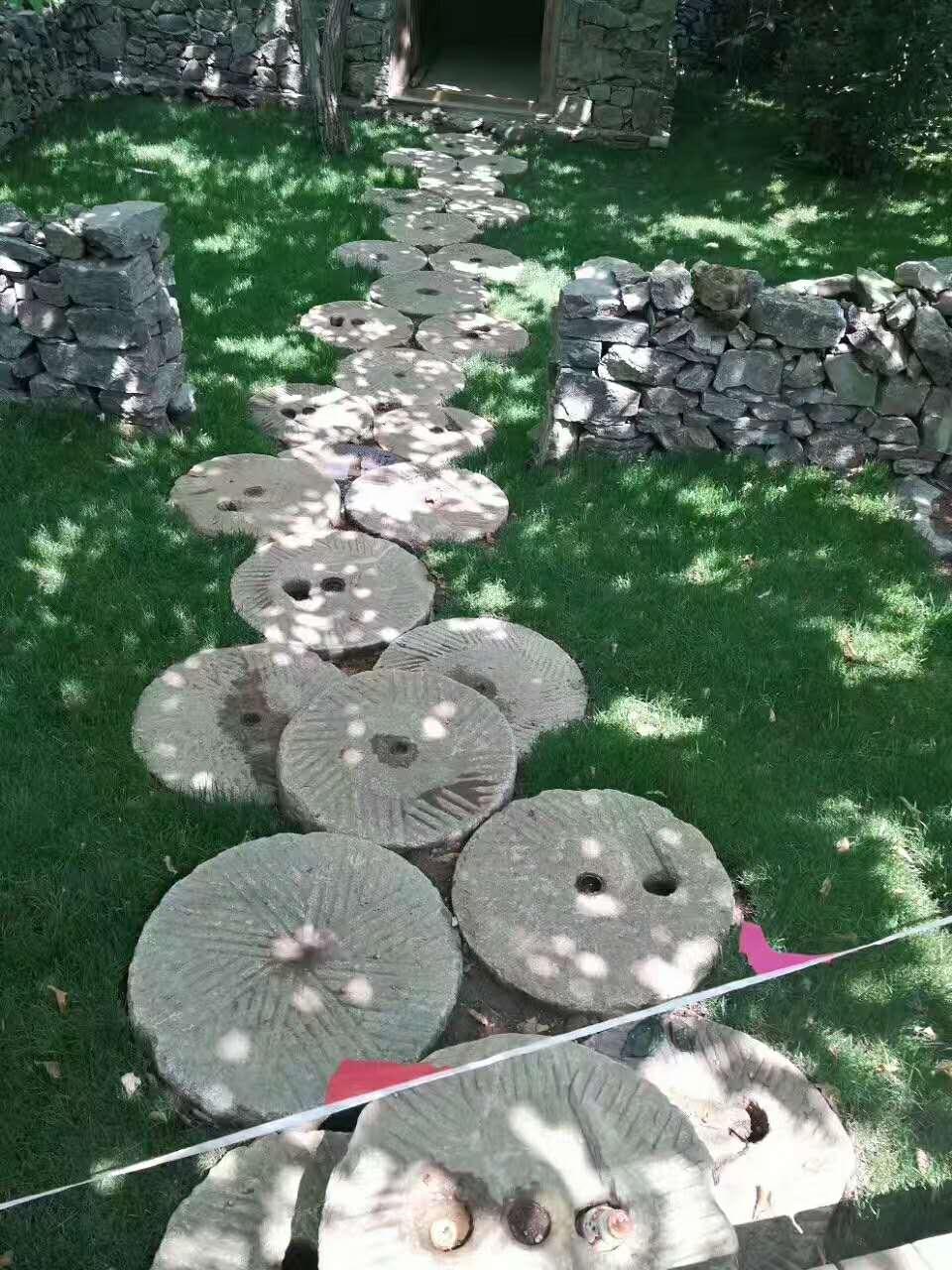 石磨园林风景石